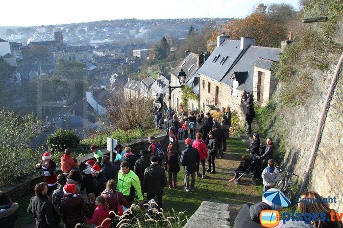 Stairs of Brélévénez - Lannion