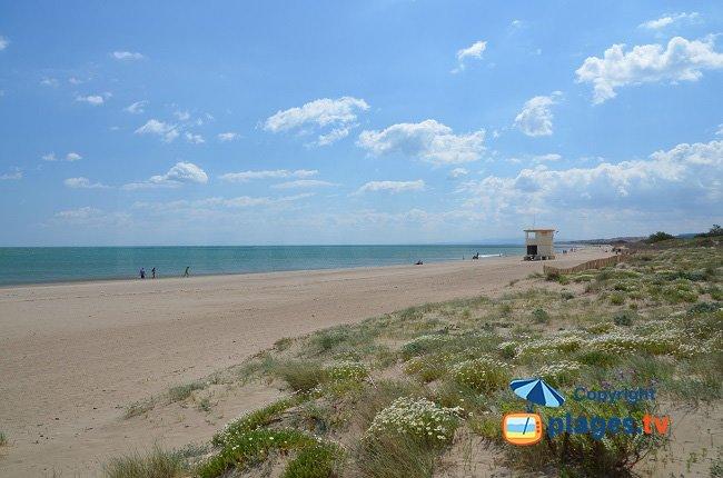 Cabane de Fleury - La plage