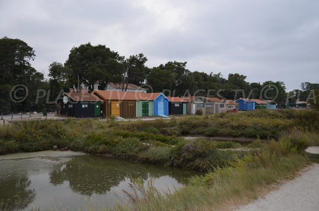 Cabanes ostréicoles sur l'île d'Oléron - Fort Royer