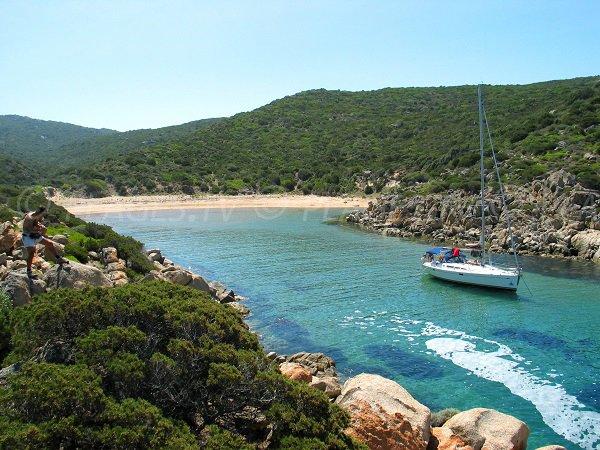 Cala d'Agulia à Campomoro en Corse du Sud