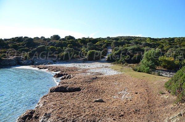 Cove near paillers of Ghignu - Corsica