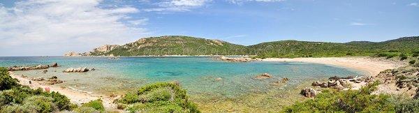 Beach in south of Sartène - Corsica