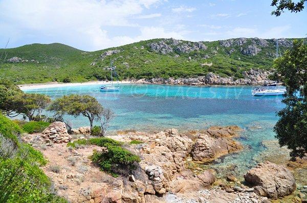 Photo of the Conca beach in Sartène - Corsica