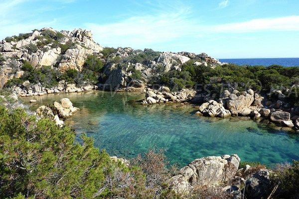 Cala Genovese in Bonifacio in France