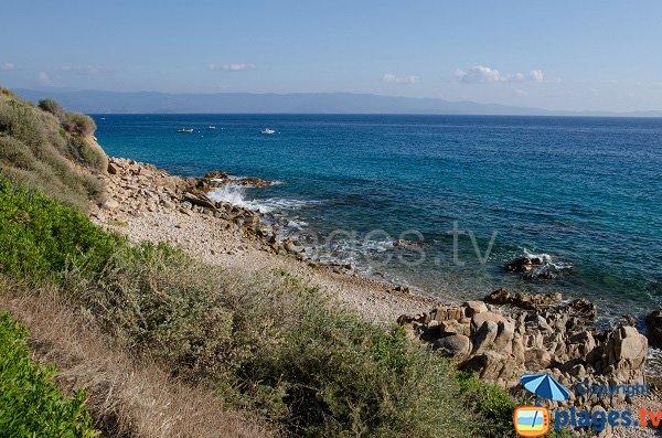 Littoral autour de la Calanque côté Stella di Mare - Ajaccio