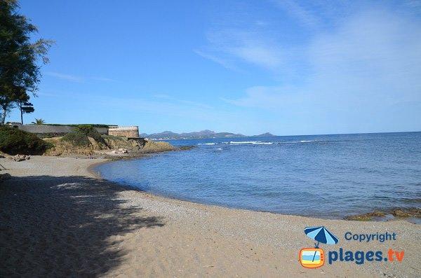 Foto della spiaggia della calanque di Balzac - St Aygulf