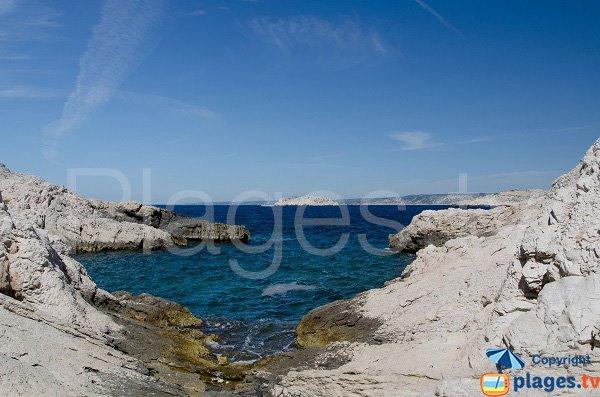Calanque de Barco Espessado sur l'ile de Frioul
