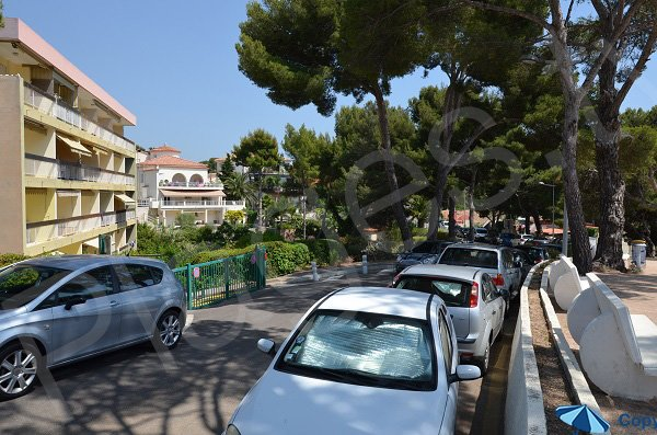 Car park for the Capelan calanque