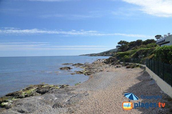 Beach in Saint Aygulf - Corailleurs
