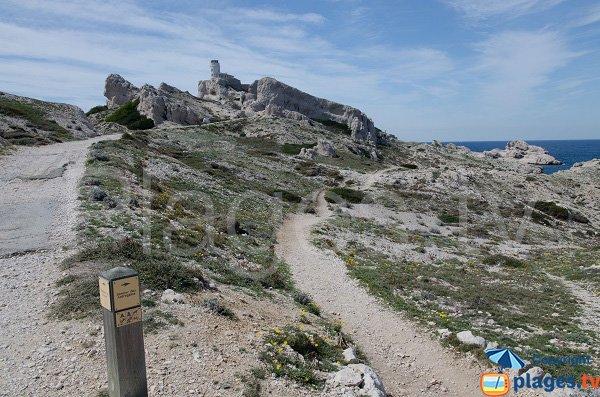 Sentier des Astragales - Frioul