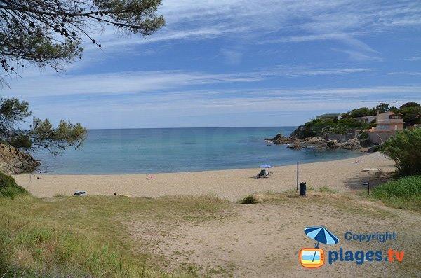 Foto della spiaggia del Grand Boucharel - Saint-Aygulf - Francia