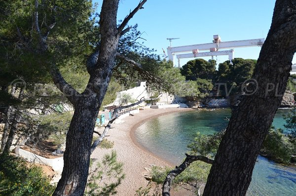 Grand Mugel Calanque in France