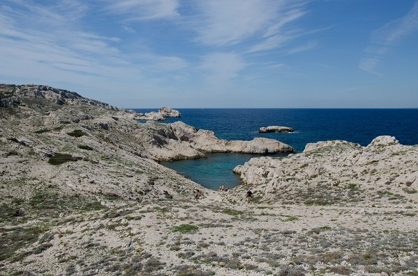 Photo of Huile calanque in Frioul island - France