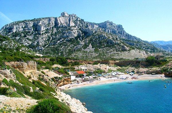 Calanque of Marseilleveyre - France