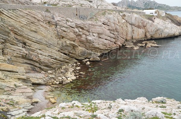 Calanque du Mauvais Pas in Marseille in France