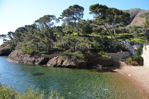 Calanque and Mugel park in La Ciotat