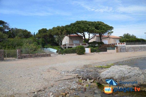 Ambiente della spiaggia di Pino - Les Issambres