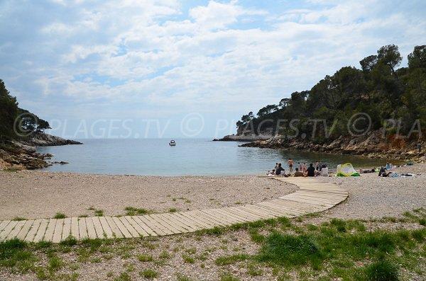 Calanque à St Cyr sur Mer