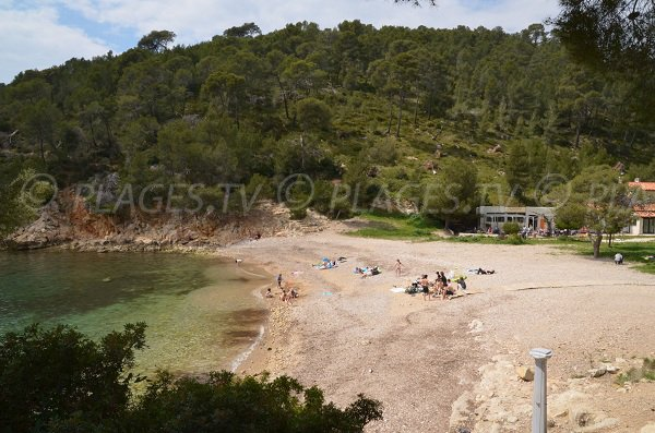 Port d 39 alon cove in saint cyr sur mer var france - Camping port d alon saint cyr sur mer ...
