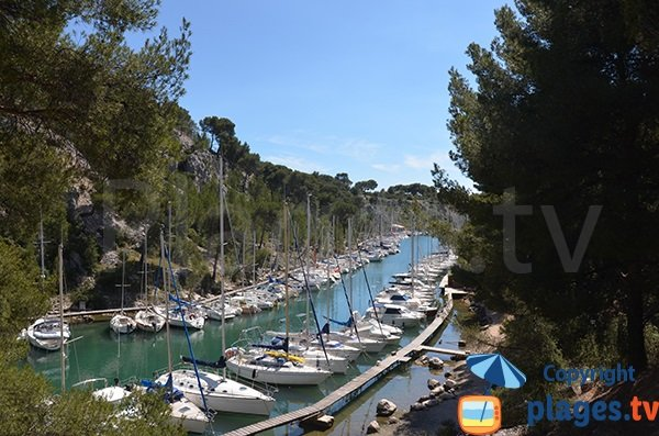 Port Miou Calanque in Cassis - France