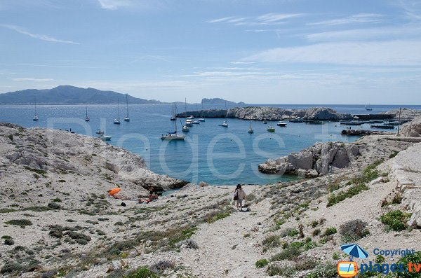 Photo of Port de Pomegues Calanque in Frioul Island - France