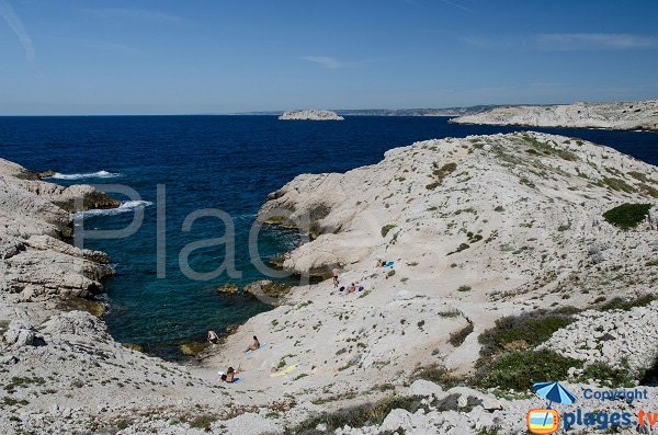 Photo of Pousterlo calanque in Frioul island - France