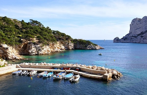 Baie des Singes in Marseille - a wild swimming area