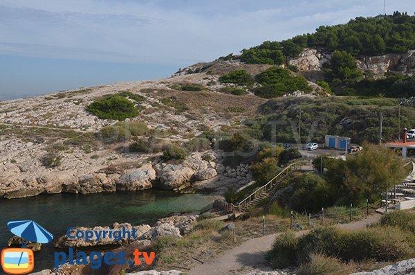 Photo de la calanque de Saména - Marseille