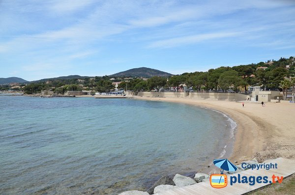 Photo of San Peire beach - Les Issambres - France