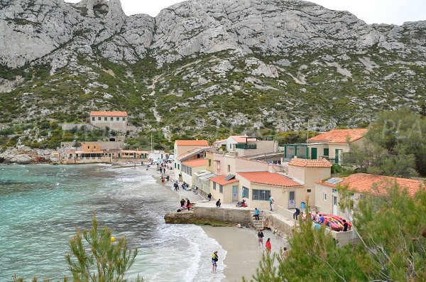 Home in the Calanque of Sormiou