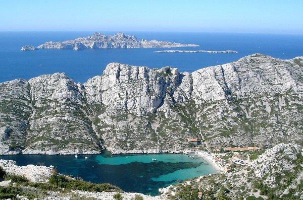 Calanque de Sormiou à Marseille