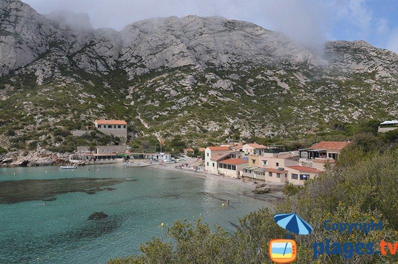 Calanque de Sormiou en juin - Marseille