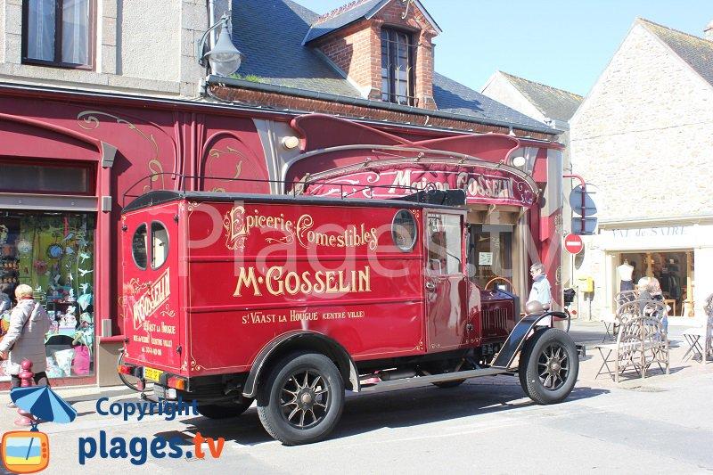 camionnette de collection de l'epicerie fine Gosselin