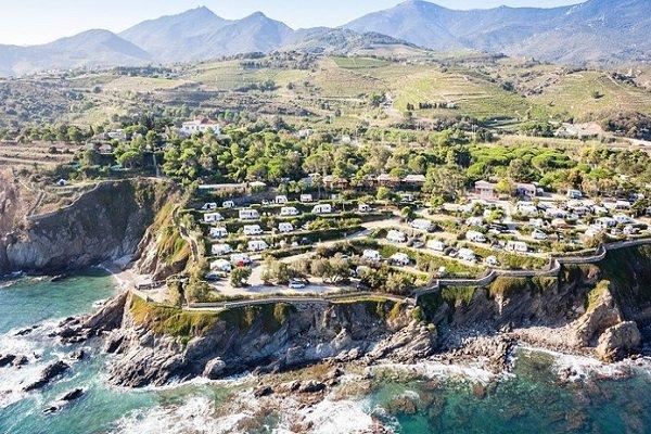 Camping en bord de mer à Argelès sur Mer - Criques du Ponteil