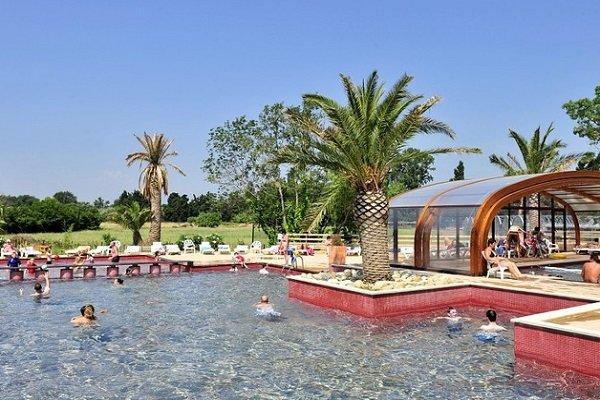 Camping avec piscine à Argelès - La Chapelle