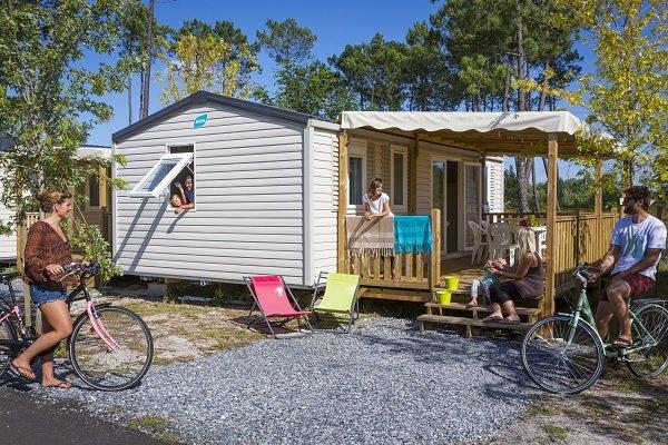 Mobil home du camping Pipiou - Parentis