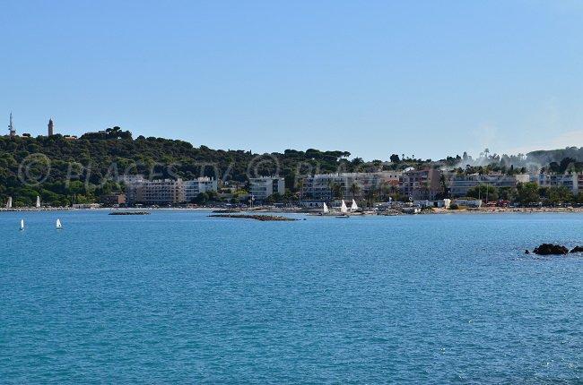 Cap d'Antibes depuis Antibes