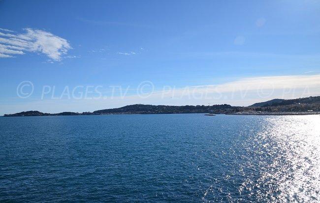 St Jean Cap Ferrat depuis Beaulieu sur Mer