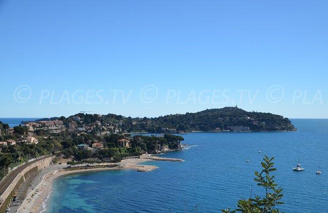 St Jean Cap Ferrat depuis Villefranche sur Mer