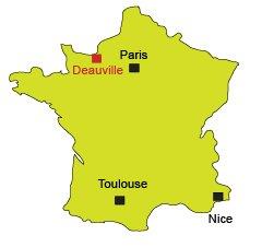 Carte de Deauville