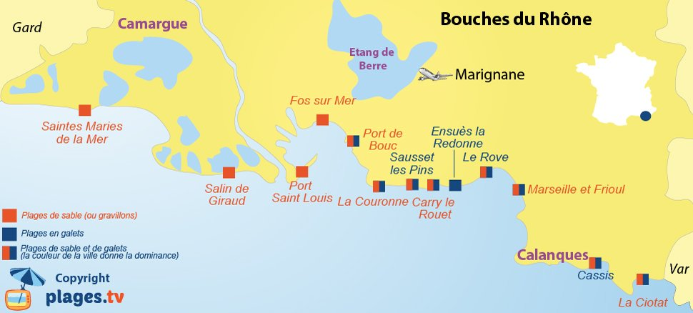 H tels campings et locations de vacances en bord de mer - Centre medical port saint louis du rhone ...