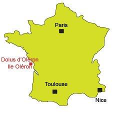 Localisation de Dolus d'Oléron (17)