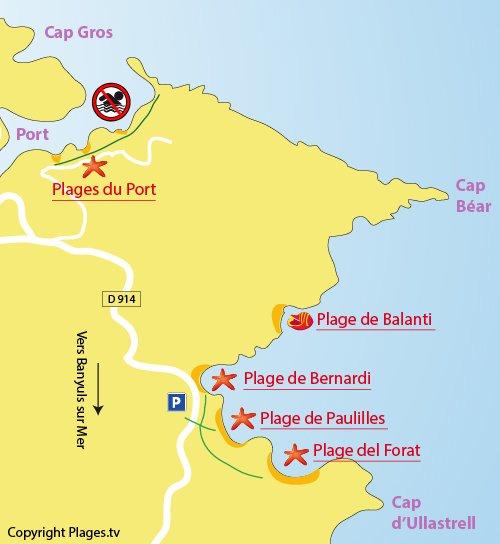 Plage bernardi port vendres 66 pyr n es orientales - La plage parisienne port de javel haut ...