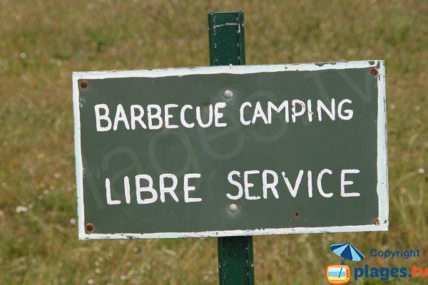 Barbecue sur l'ile de Batz