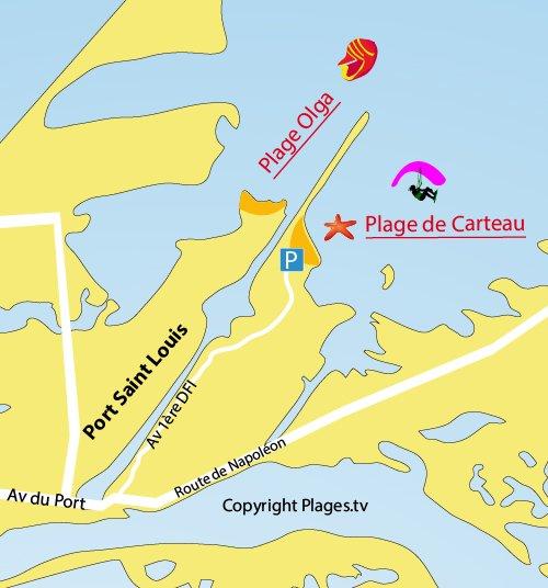Carteau Beach In PortSaintLouisduRhône BouchesduRhone - Hotel port saint louis du rhone