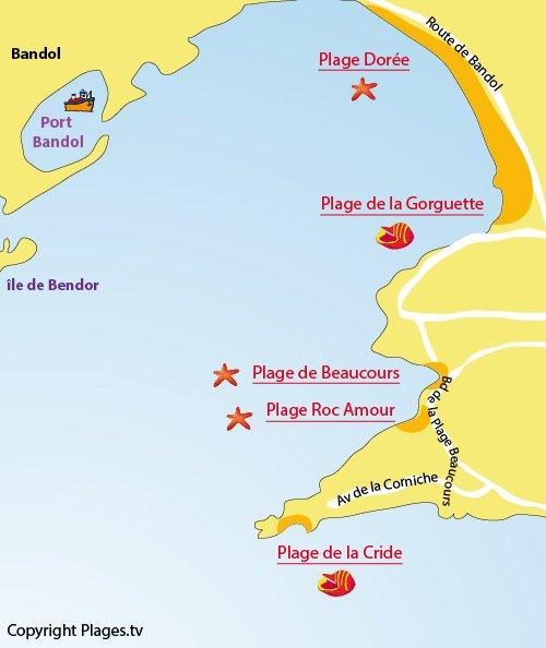 Plage dor e sanary sur mer 83 var paca - Plage la plus proche de salon de provence ...