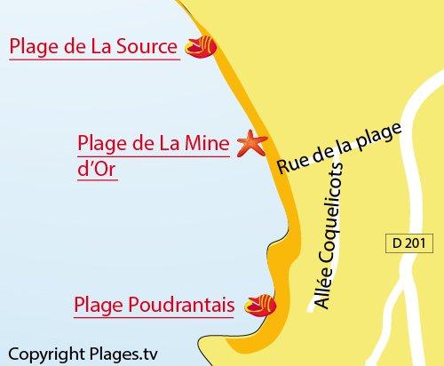 Mine d'Or Beach in Pénestin   Morbihan   France   Plages.tv