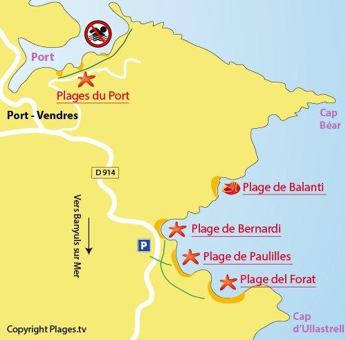 Plage de paulilles port vendres 66 pyr n es orientales - La plage parisienne port de javel haut ...