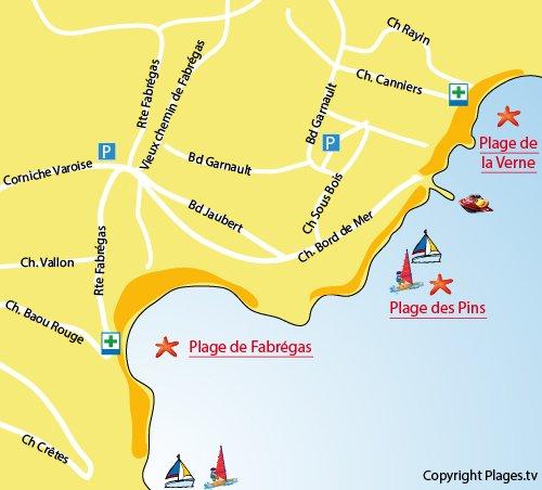plan qu La Seyne-sur-Mer