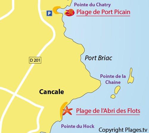 Plage de port picain cancale 35 ille et vilaine bretagne - La plage parisienne port de javel haut ...